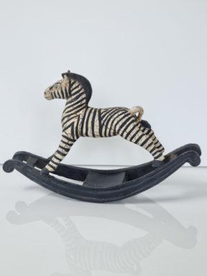 Zebra prydnadssak. Besök Blickfång.se