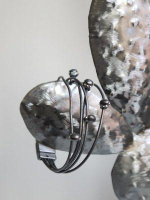 Armband magnetlas med stenar