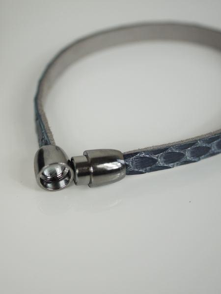 armband-gra-snake