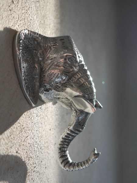elefant-krok i silver