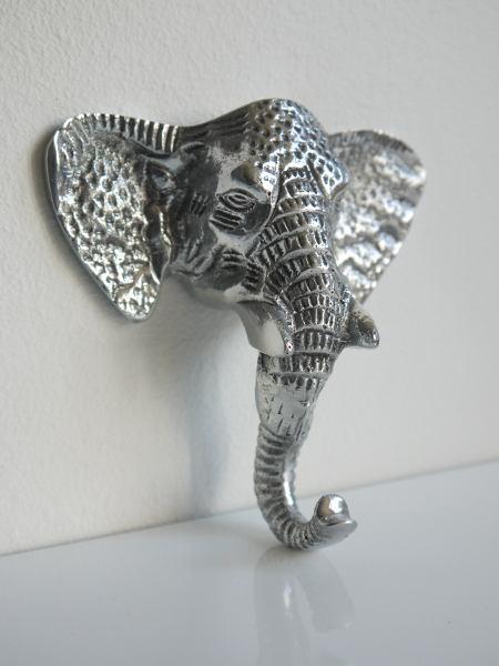elefant krok silver