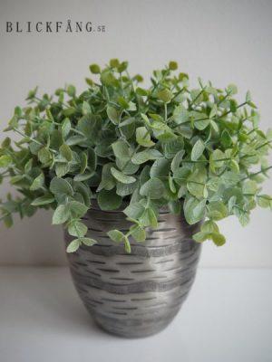 Konstgjord naturtrogen eucalyptus halvboll