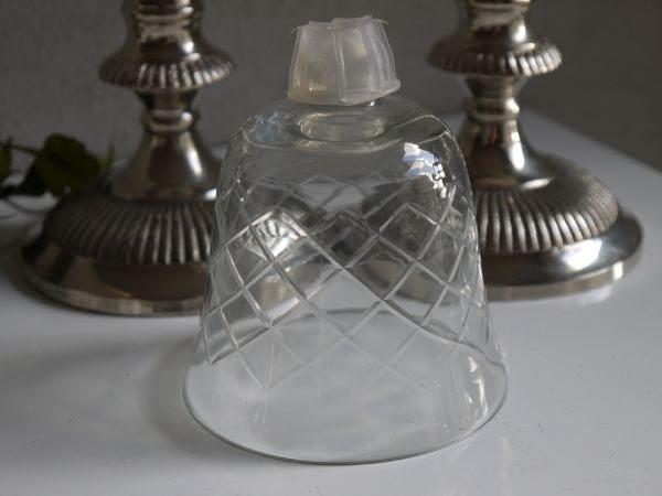 glaskupa fasettslipad