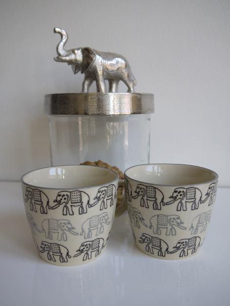 kaffekopp elefanter