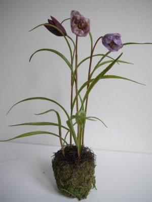 Konstgjord kungsängslilja purpur
