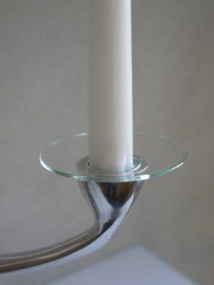 Ljusmanschett i glas