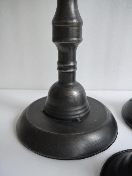 ljusstake-metall-svart