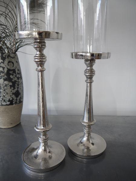 ljusstake ruff glascylinder