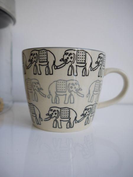 mugg elefant