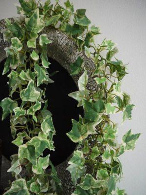 Konstgjord murgrona girlang ljusgrön