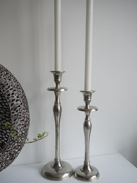Ljusstak-silver-stilren-design