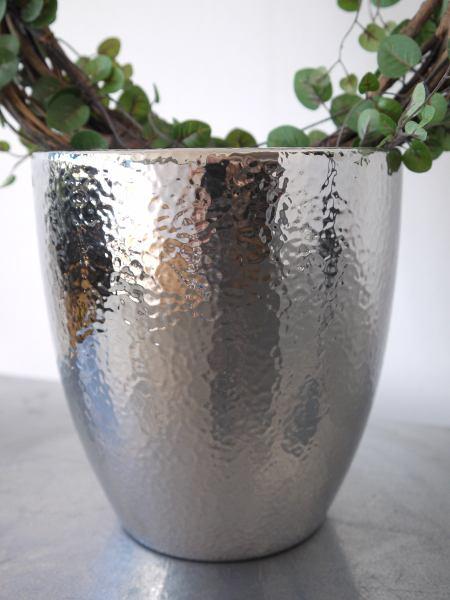 stilren ytterkruka silver