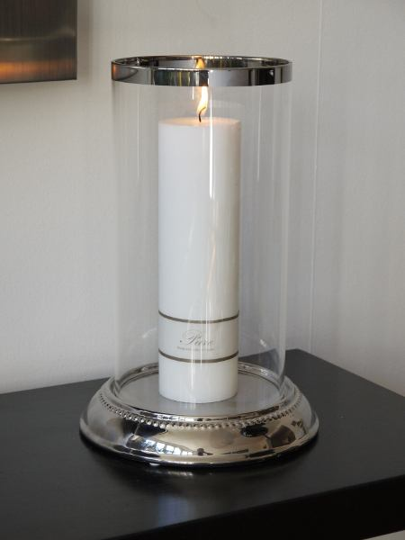 Stor-rund-ljuslykta-glas-silver
