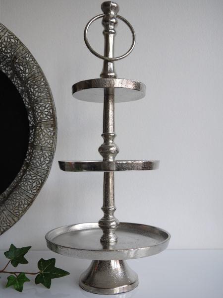 våningsfat ruff silver
