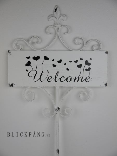 welcome-skylt-shabby-chic