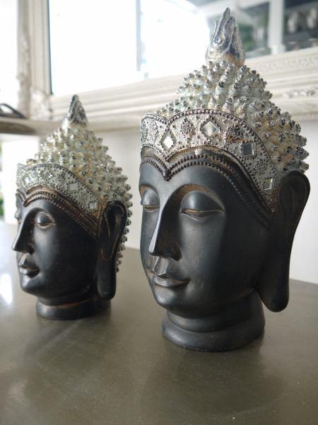 Buddha-huvud-prydnadssak