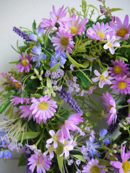 krans-blommor