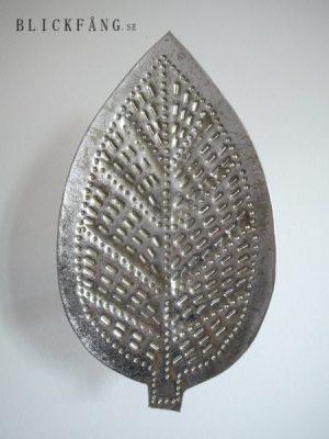 Väggljusstake i silver