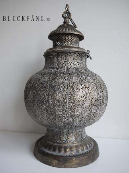 lykta-antik-brun
