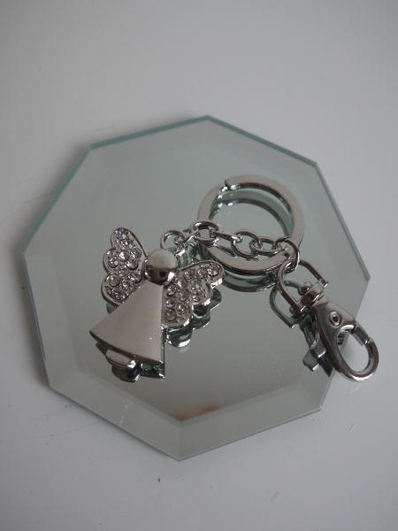 Nyckelring-angel
