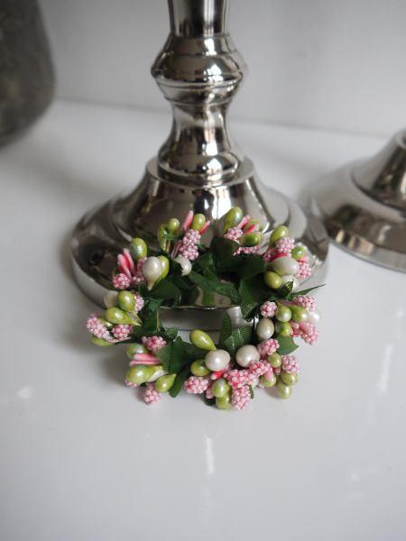 rosa-ljusmanschett