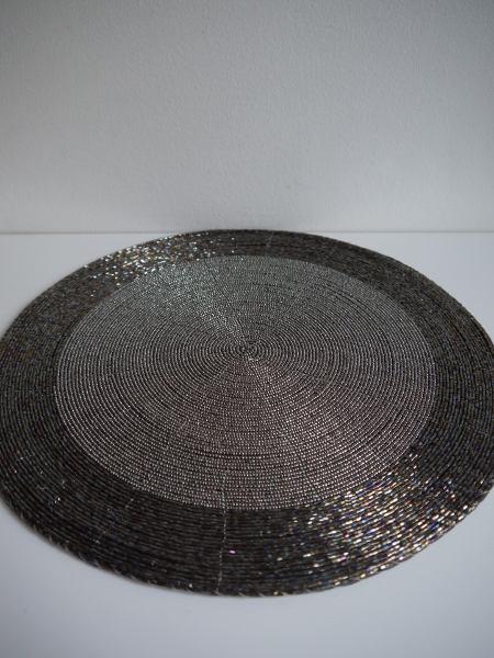 Tallrikstablett-silver