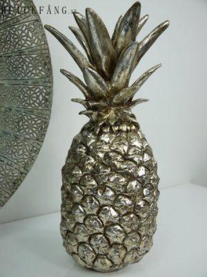 Ananas silver prydnadssak