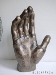 Hand prydnadsfigur