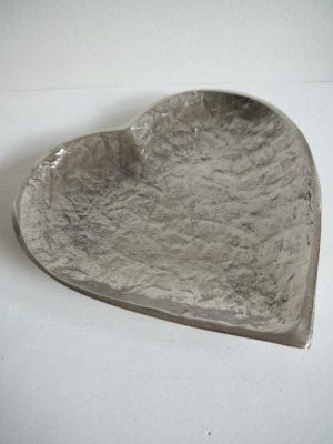 Fat hjärta ruff metall