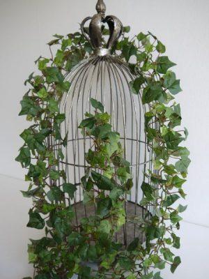 Fyllig konstgjord murgröna-girlang