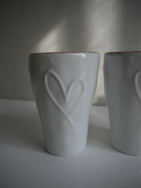 lattemugg med hjärta