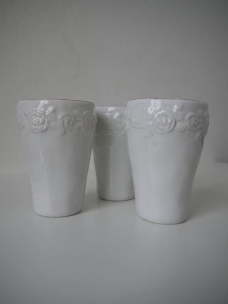 lattemugg med rosor