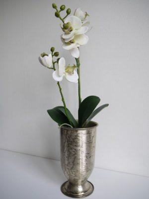 Konstgjord orkide i kruka