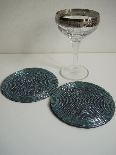 turkos-glasunderlagg
