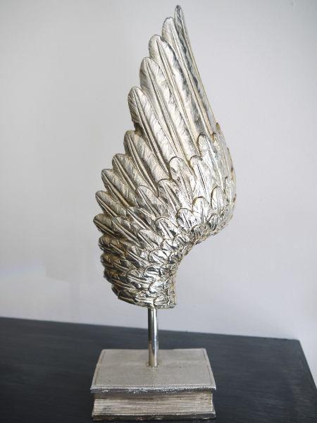 änglavinge i silver