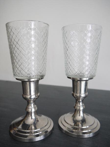 Liten-rutig-glaskupa-till-varmeljus