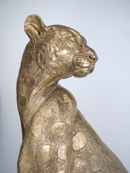 Stor-guld-leopard-prydnadsfigur-2