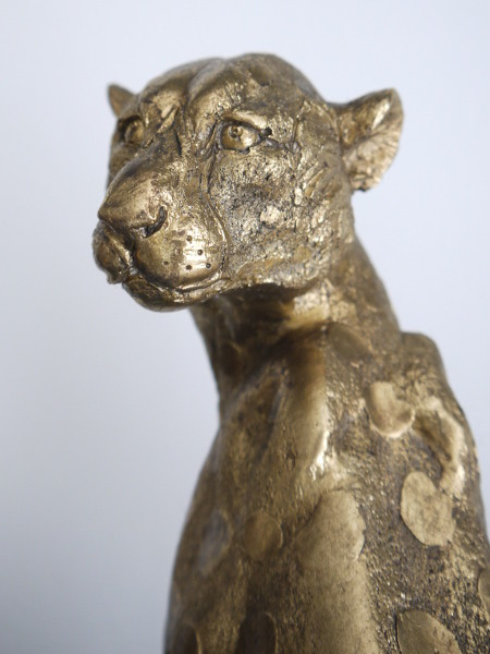 leopard-prydnad