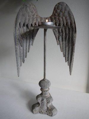 Ljusstake med vingar till varmeljus