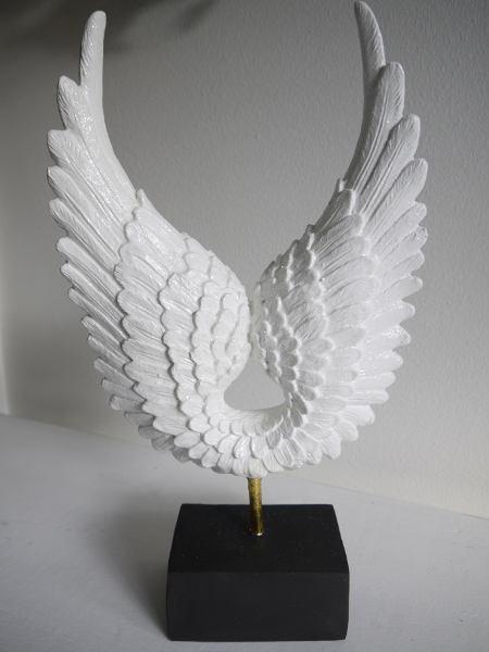 vita änglavingar