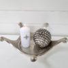 Fat krona i silver. Besök Blickfång.se