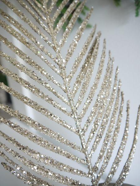palmblad glitter