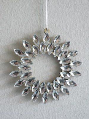 Julpynt hänge med strass. Besök blickfång.se