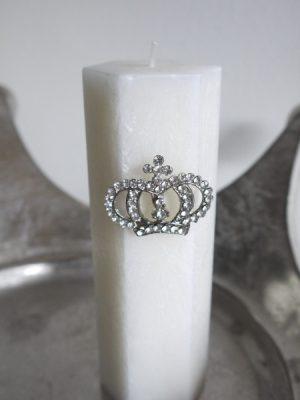 Krona med strass ljussmycke. Besök Blickfång.se