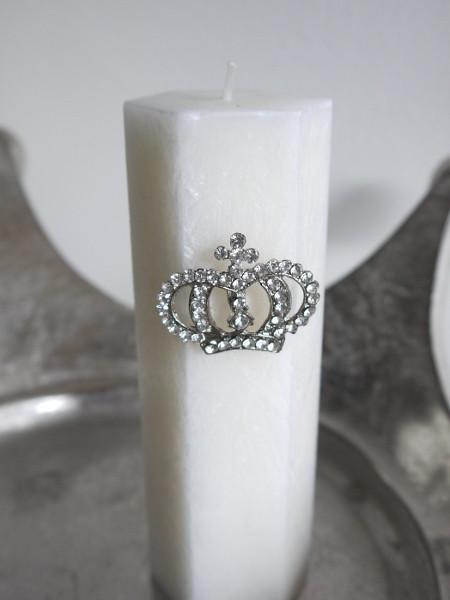 Krona-med-strass-ljussmycke