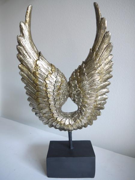 Anglavingar-prydnad-silver-guld