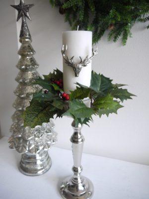 Ljusmanschett jarnek till jul