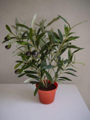 Konstgjord olivbuske i innerkruka