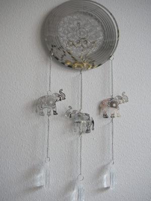 Drömfångare i silver metall. Besök Blickfång.se