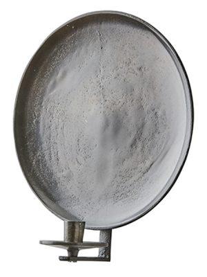 Vaggljusstake ruff morkbrun metall
